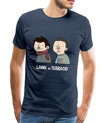 Exceptionnel Wankil Laink Et Terracid T-shirt Premium Homme de Spreadshirt  PW06
