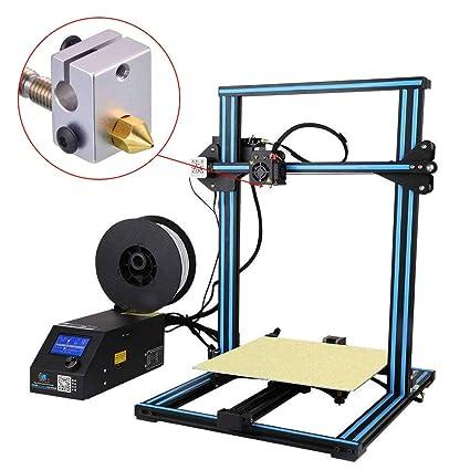 Timagebreze Boquilla Extrusora de Impresora 3D de 30 Piezas-MK8 Boquilla de 0,4 Mm para Ender 3 Anet A8 Makerbot MK8 Creality CR-10 CR-10S S4 S5 3Pro 5