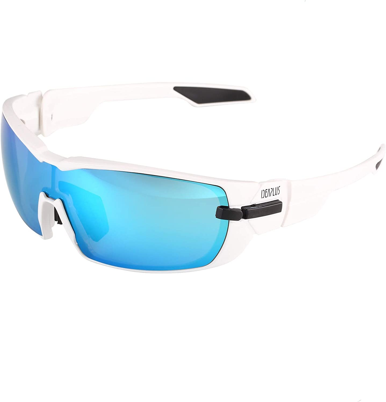 IDEAPLUS Sports Sunglasses Men Women Baseball Running Cycling Fishing Driving Golf Softball Hiking Sun Glasses