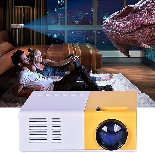 Joojun Mini proyector, proyector retroproyector portátil, PC ...