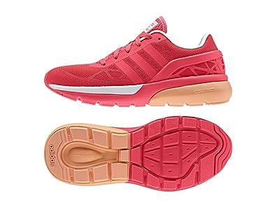 buy popular be6ea 4ab22 adidas Damen Cloudfoam Flow W Turnschuhe, Rojo RojimpFtwbla, 36 23
