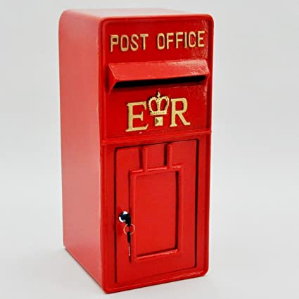 Royal Mail Letter Box.Royal Mail Post Box Er Ii Pillar Box Red Iron Post Office