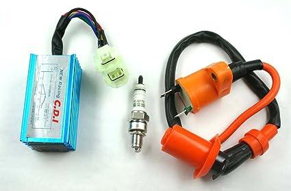 amazon com xa high performance racing ignition coil spark plug rh amazon com Yamaha 50Cc Dirt Bike 50Cc Dirt