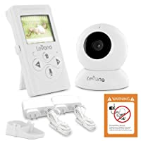 Levana 32000 Lila 2.4-inch Digital Video Baby Monitor