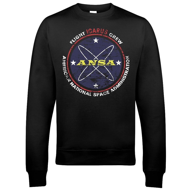 9002 ANSA Mens Sweatshirt A Space Odyssey 2010 2061 Computer Sal Lunar Stanley Kubrick