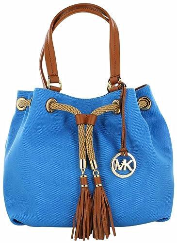 b570b77827 Michael Kors Jet Set NS Marina Large Gathered Tote Handbag  Handbags  Amazon .com