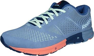 Reebok One Cushion 2.0 Lux Zapatillas de deporte corrientes de los hombres-Grey-41: Amazon.es: Zapatos y complementos