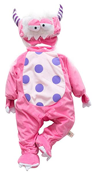 La vogue Bebé Ropa Disfraz Franela Peleles Pijama Una Pieza Animales Cosplay Cabra Talla 66/