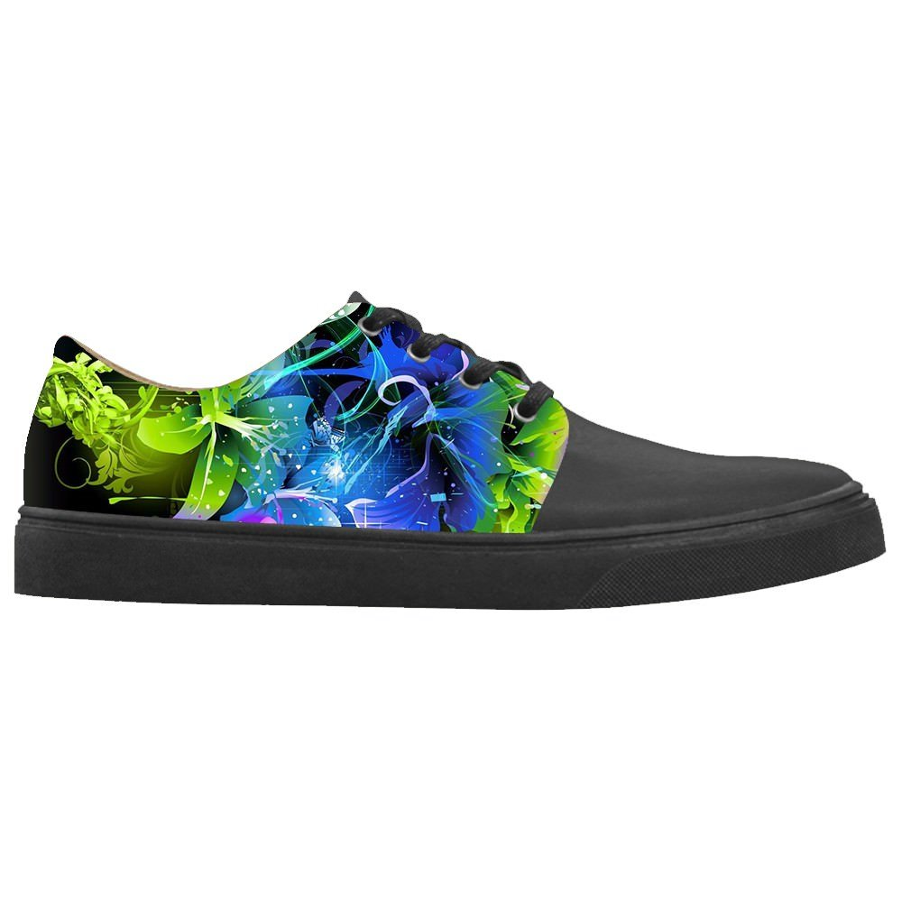 Daniel Turnai Fan Custom Womens Shoes Art Painting New Sneaker Canvas Pointed Toes