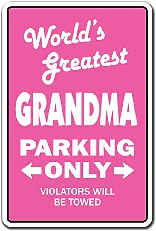 WORLD/'S GREATEST GRANDMA Sign grandchildren grand kids grandmother