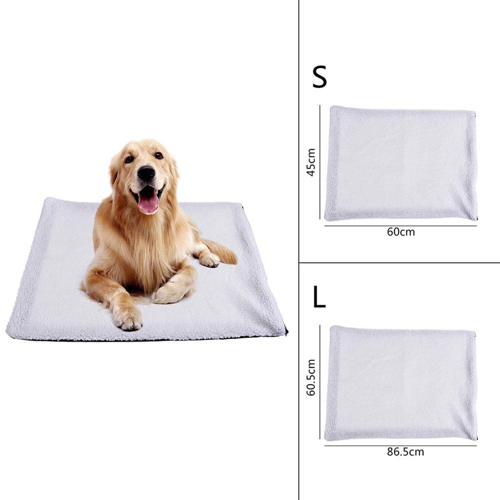 Lembeauty Alfombrilla térmica para Calentar el Pelo de Cordero con Calor, Manta calefactada para Perro o Gato: Amazon.es: Productos para mascotas