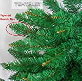 TEKTRUM 4-feet ARTIFICIAL CHRISTMAS FIR PENCIL TREE WITH TAPERED BRANCH TIPS FOR CHRISTMAS/HOLIDAY/PARTY (Model TD-SYCT-1610A)