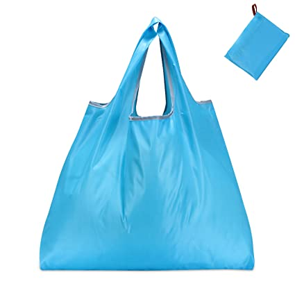 8063ca0fc Amazon.com  KINGMAS Reusable Grocery Bags