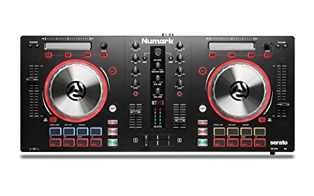 front facing numark mixtrack pro 3