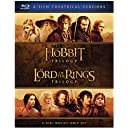 The Hobbit Trilogy and The Lord of the Rings Trilogy [Blu-ray]
