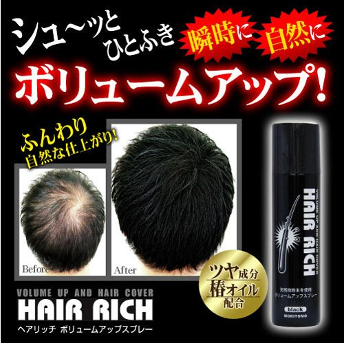 Image result for ヘアリッチ