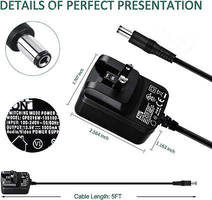 yanw AC Adapter for Stanley J5C09 STA-J5C09 J312 DPS109 STA-DPS109 Jump Starter Power