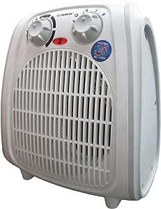 ترموستات غرفة أوتوماتيكية قابلة للتعديل مع سخان مروحة اختيار الهواء البارد والدافئ والدافئ