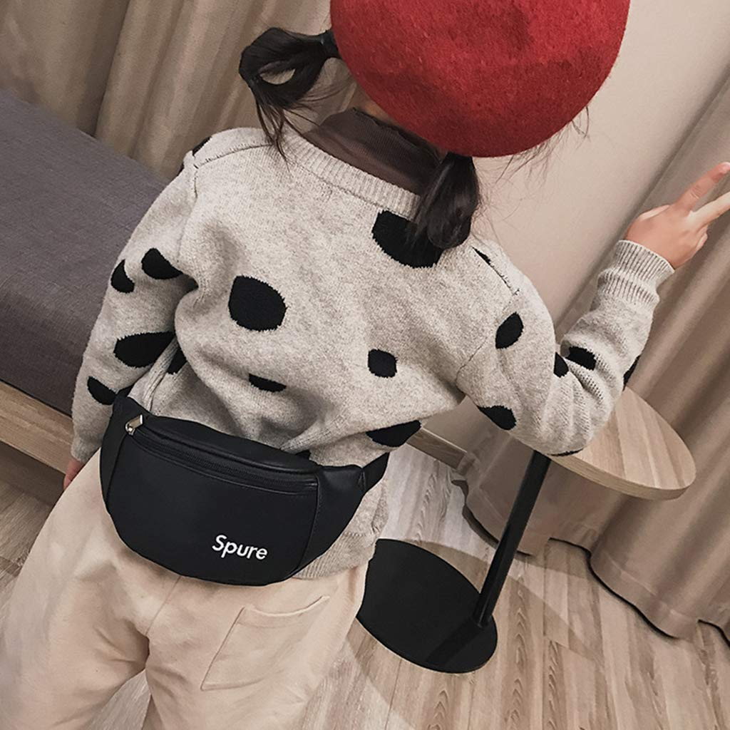 BabyHUIH Kids Girls Waist Bag Fanny Pack Hip Camping Money Phone Pouch Belt Sport Shoulder Bag