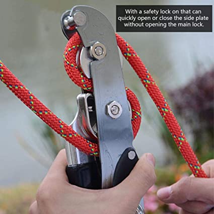 Descensor de Cuerda, Dispositivo de retención de Frenos de ...