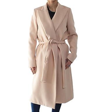 huge discount 4d486 306c6 Imperial Damen Mantel Beige Puder M: Amazon.de: Bekleidung