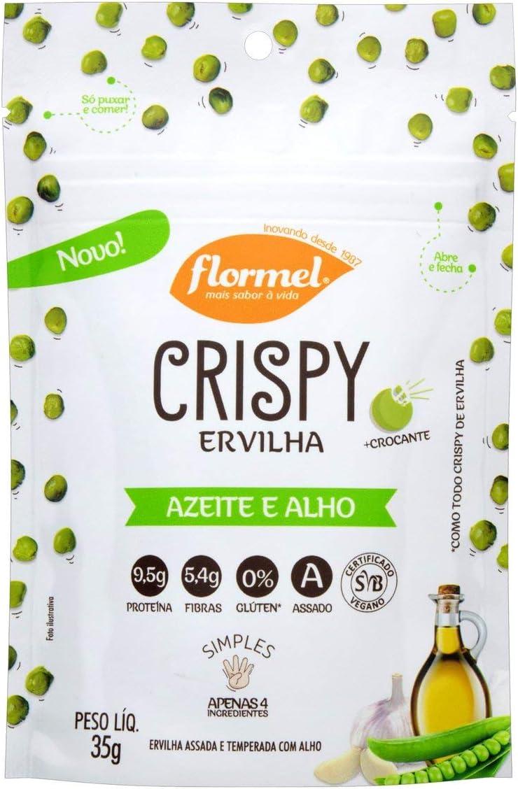 Crispy de Ervilha Azeite e Alho Flormel 35g