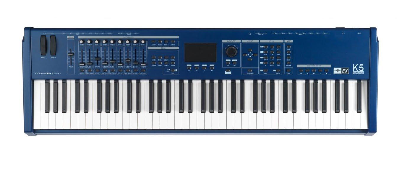 Piano Físico K5-Ex De 76 Teclas Teclado Maestro Midi Con Caja De Resonancia De Modelado Físico: Amazon.es: Instrumentos musicales