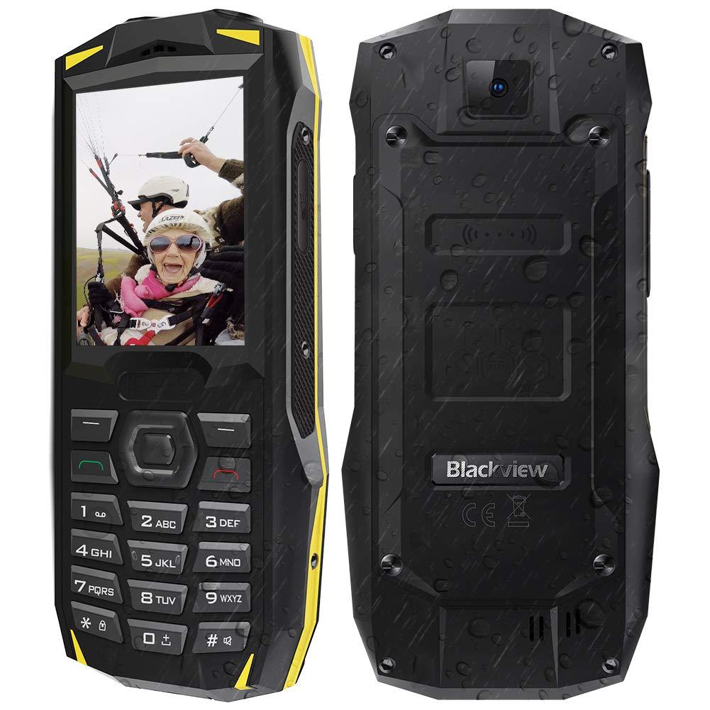 Teléfono Móvil para Mayores, Blackview BV1000 IP68 Resistente al Aire...