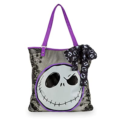 Amazon.com: Disney Parks Jack Skellington - Bolsa de la ...