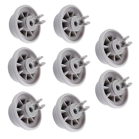 Wadoy Lavavajillas de estructura baja rueda de repuesto para ...