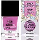 Born Pretty Odour Free Latex Cuticle Guard. Peel Off Liquid Latex Tape For Nail Art & Nail Stamping (Pink)