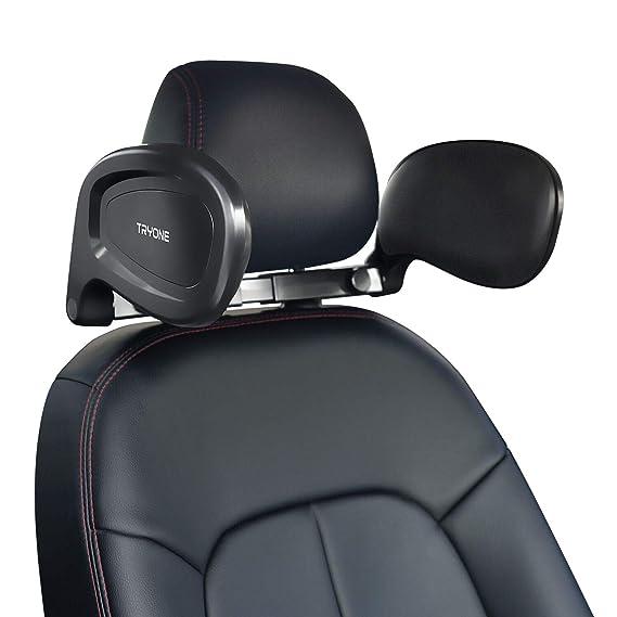 Tryone Nackenkissen Auto, Kopfstütze – Klappbare Nackenstütze zum Schlafen im Auto für Erwachsene und Kinder