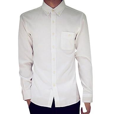 grande vendita d3cd8 98219 Camicia da Uomo Slim Fit Camicia da Uomo Blu Cotone Maniche ...