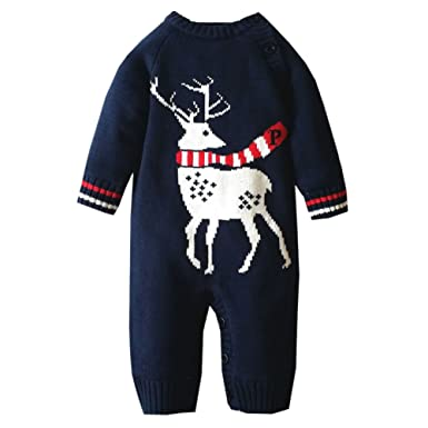 MNBS Peleles bebe invierno suéter sweater sudaderas niño suéter navidad: Amazon.es: Ropa y accesorios