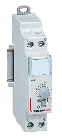 Timer Luci Scale Prezzo.Legrand Leg412602 Temporizzatore Luce Scale Modulare 16 A 230 V