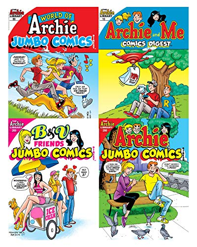 Archie Comics Digest Value Packs (Summer 4-Pack) from Archie Comics