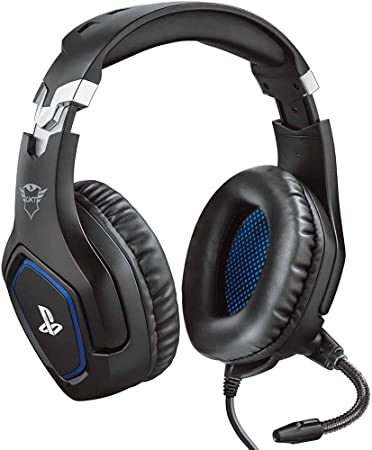 Trust Gaming Cascos PS4 y PS5 Auriculares de Gaming GXT 488