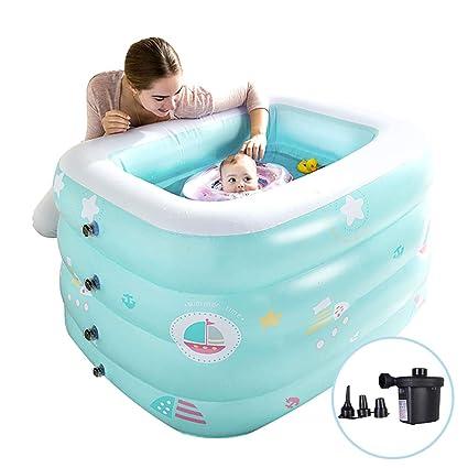 Bebé Inflable Espesar Piscina Protección UV Al aire libre ...