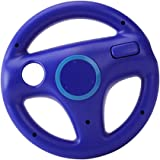Giochi Controller Mario Kart Volante Racing Wheel Per Nintendo Wii - Blu