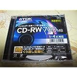 TDK CD-RW80S-D 700MB 1-4倍速対応 データ用