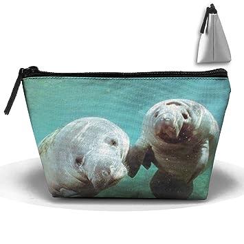 550a09df5653 Amazon.com : SDEYR79 Pair Manatee Doug Perrine Ocean Animal Travel ...