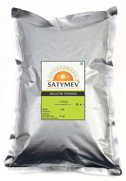 Sri Satymev Mulethi Powder, 100g