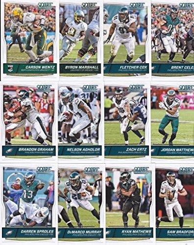 philadelphia-eagles-2016-score-football-14-card-team-set-w-rookies-plus-1-special-insert-card