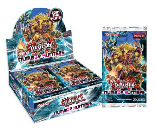 Yu-Gi-Oh Cards - Number Hunters - Booster Packs (5 Pack Lot)