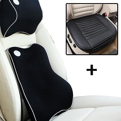 Kit de coche soporte Lumbar cojín para la espalda y coche ...