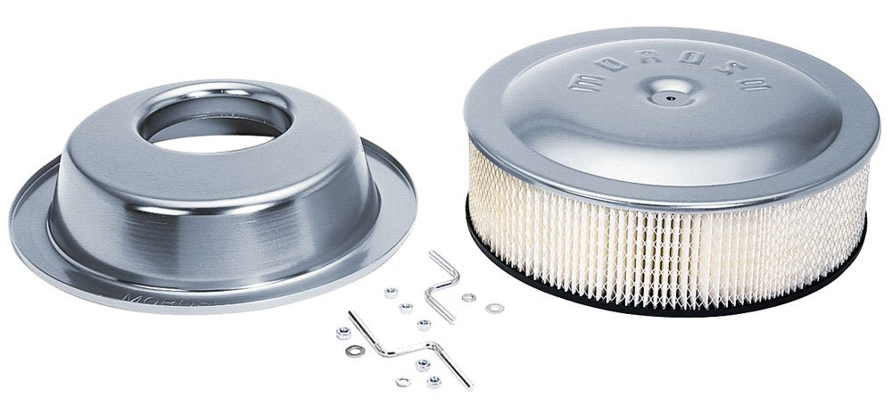 Moroso 65928 14' X 4' Offset Racing Air Cleaner