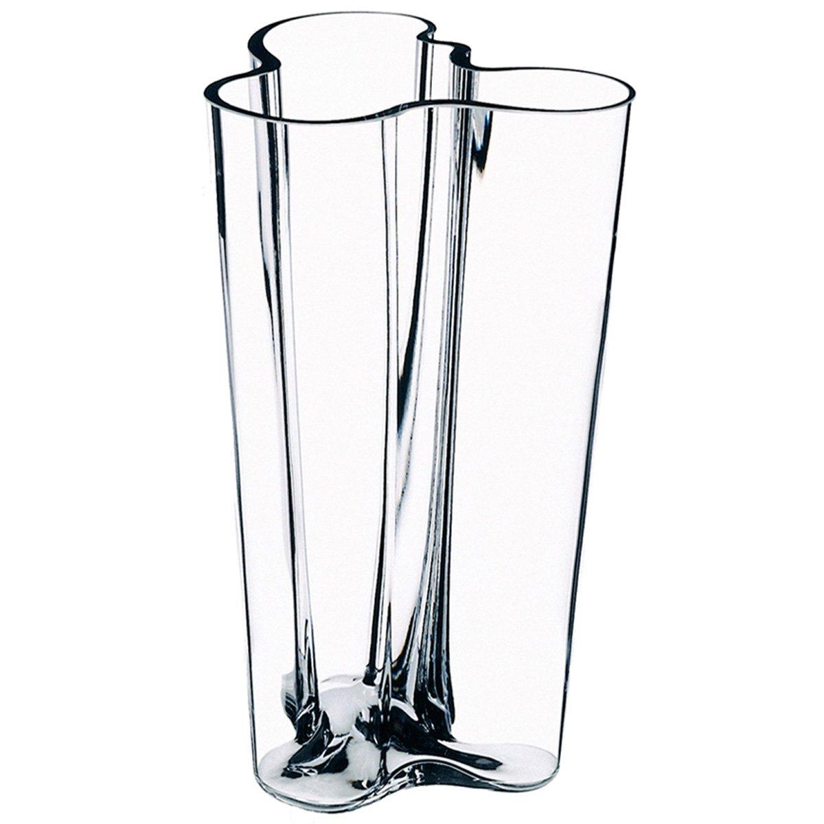 Iittala alvar aalto 251mm clear vase amazon kitchen home reviewsmspy