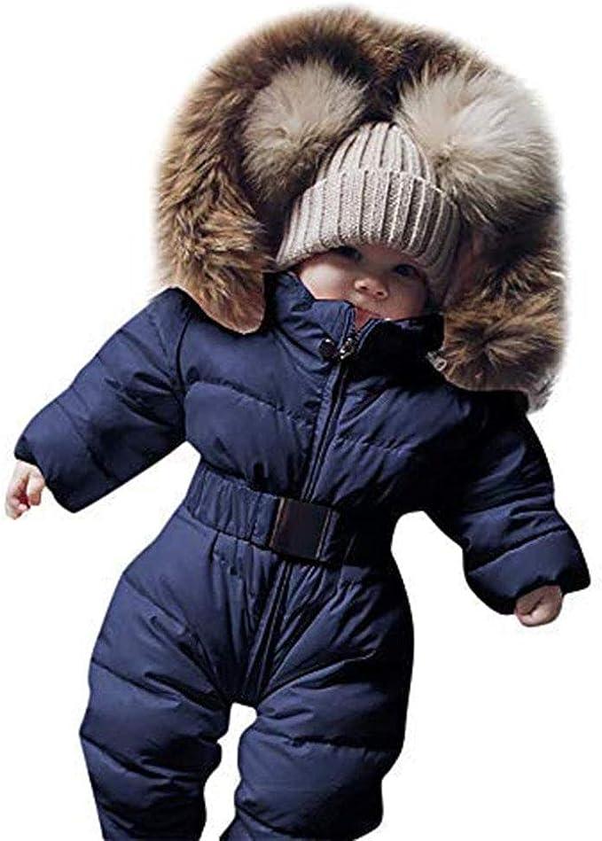 Amazon.com: Abrigo de invierno para bebé recién nacido, para ...