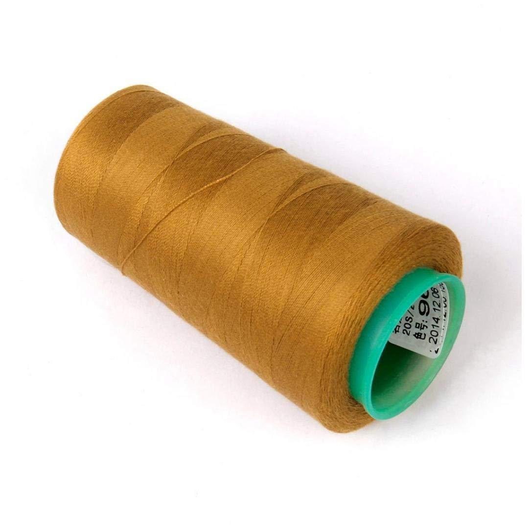 2 de Oro Amarillo TOSSPER 1 de la Cola Jeans Hilo de Coser para Coser la m/áquina 20S