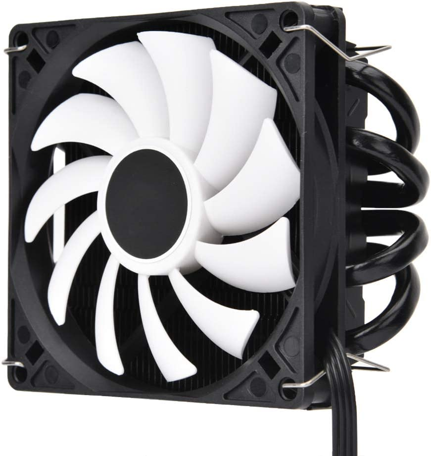 Zopsc CPU Cooling Radiator Fan Ultrathin ID-Cooling IS40x AM4 Heat Pipe ITX Down Pressure 9215 Temperature-Controlled Silent Cooling Fan Compatible with Intel/&AMD Platform